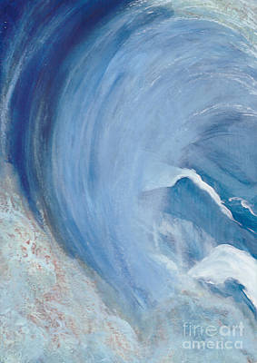 Painting - Wave Break by Heather  Hiland
