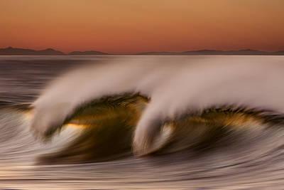 Photograph - Wave Breaking Alaska 73a2665_73a5149 by David Orias