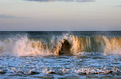 Nature Photograph - Wave Cave by Greg and Chrystal Mimbs