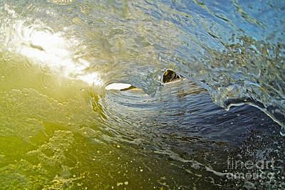 Wave Cave Art Print by Paul Topp