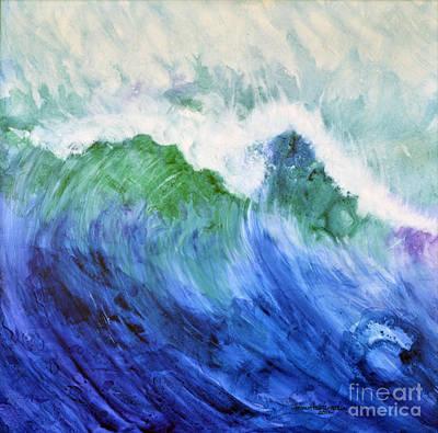 Wave Dream Art Print by Joan Hartenstein