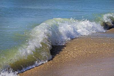 Coastline Photograph - Wave  by Betsy Knapp