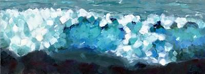 Wave Emotion On The Wild Atlantic Way Of Western Ireland Original by Catherine Considine