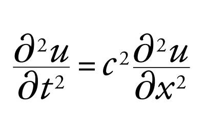 Wave Equation Art Print by Science Photo Library