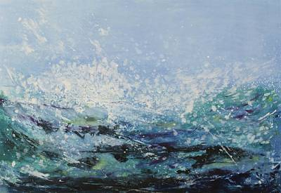 Painting - Wave I by Alexandra Leadbeater