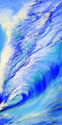 Painting - Wave In Motion by Paul Miners