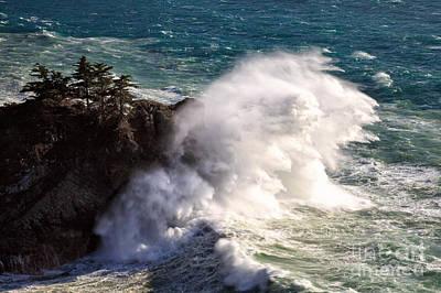Photograph - Wave Power by Stuart Gordon