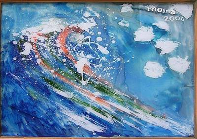 Painting - Wave by Rooma Mehra