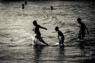 Photograph - Wave Runners by Soren Egeberg