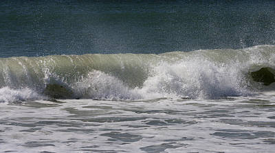 Wave Sequence 4 Of 4 Art Print
