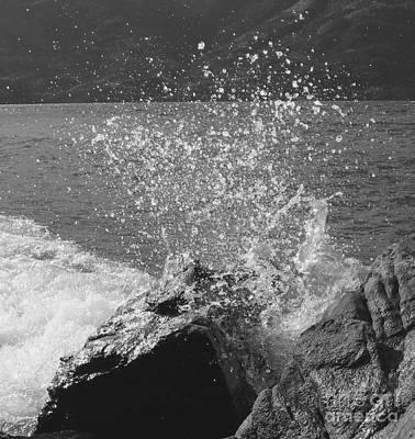 Photograph - Wave Spray by Leone Lund