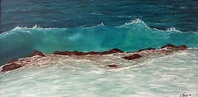 Wave Art Print by Svetla Dimitrova