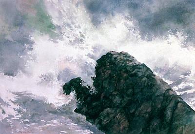 Painting - Wave by Tom Wooldridge