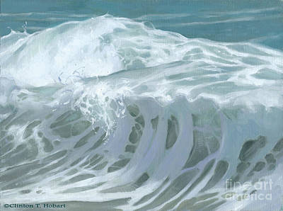 Painting - Wave X by Clinton Hobart