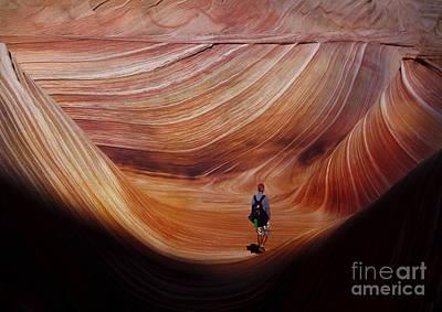 Digital Art - Wave6 by Angelika Drake
