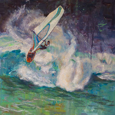 Wavemaker Art Print by Jeanne Young