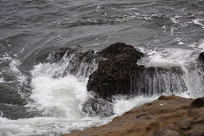 Photograph - Waves - 0024 by S and S Photo