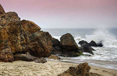 Point Dume Wall Art - Photograph - Waves At Point Dume by Ricky Barnard