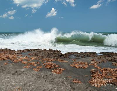 Waves At Work Art Print by Michelle Wiarda