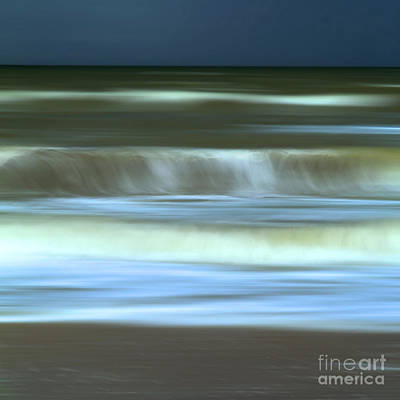 Waves Art Print by Bernard Jaubert