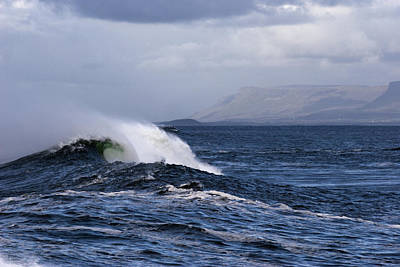Photograph - Waves In Easkey 2 by Tony Reddington