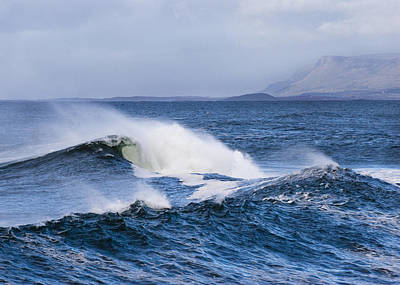 Photograph - Waves In Easkey 4 by Tony Reddington
