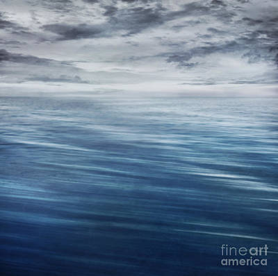 Mythja Digital Art - Waves In Motion Blur. by Mythja  Photography