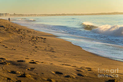 Photograph - Waves In Old Orchard Beach by Susan Cole Kelly