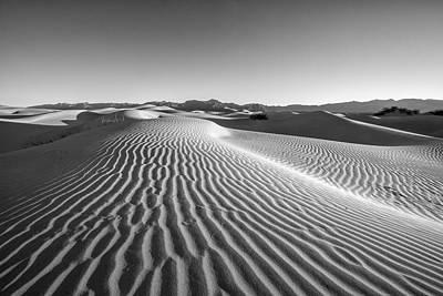 Desert Photograph - Waves In The Distance by Jon Glaser