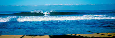 Waves In The Ocean, North Shore, Oahu Art Print by Panoramic Images