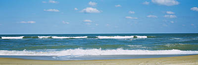 Cape Hatteras Photograph - Waves In The Sea, Cape Hatteras, Outer by Panoramic Images
