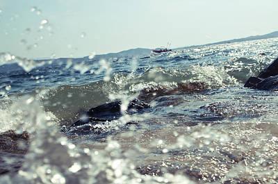 Waves Art Print by Ivan Vukelic