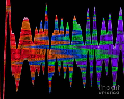 Digital Art - Waves - Kristi Kruse by Kristi Kruse