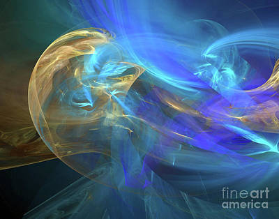 Digital Art - Waves Of Grace by Margie Chapman