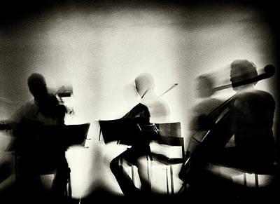 Cello Wall Art - Photograph - Waves Of Music by Mirela Momanu