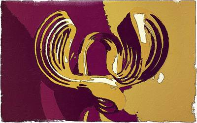 Waves Of Sound Art Print by Florian Rodarte