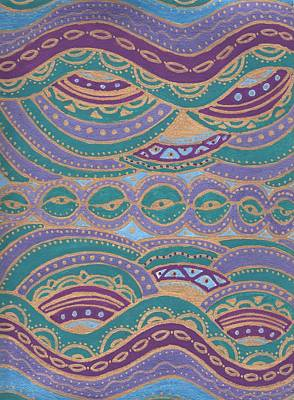 Waves Of Wellness Art Print by Sri Devi