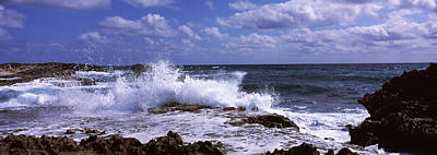 Cozumel Wall Art - Photograph - Waves On The Coast, Cozumel, Mexico by Panoramic Images