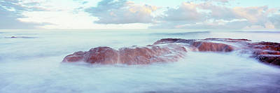Roca Photograph - Waves On The Coast, Las Rocas Beach by Panoramic Images