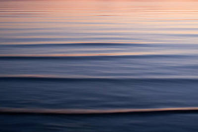 Waves On The Great Salt Lake Art Print by Phil Schermeister