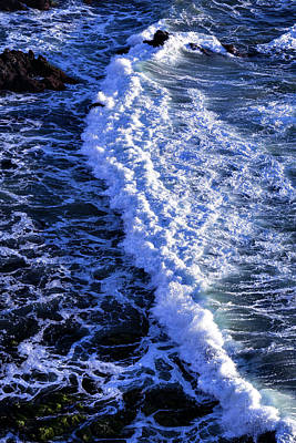 Sonoma Coast Photograph - Waves Pacific Ocean by Garry Gay