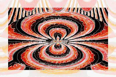 Digital Art - Waves by Paula Ayers