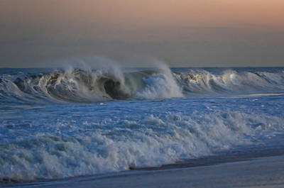 Photograph - Waves Point Pleasant Beach Nj by Terry DeLuco