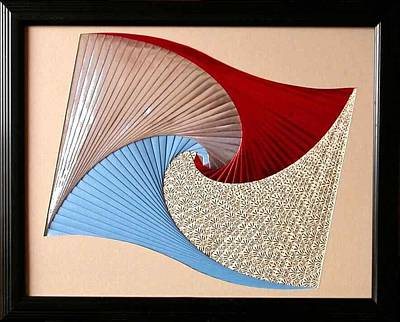 Florida Artists Mixed Media - Waves by Ron Davidson