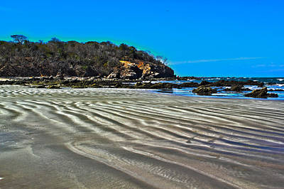 Photograph - Wavy Beach by Shane Bechler