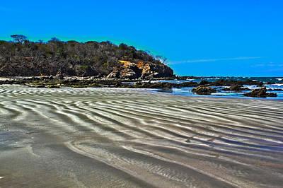 Mazatlan Photograph - Wavy Beach by Shane Bechler