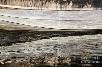 Wavy Reflections Art Print by Sue Smith