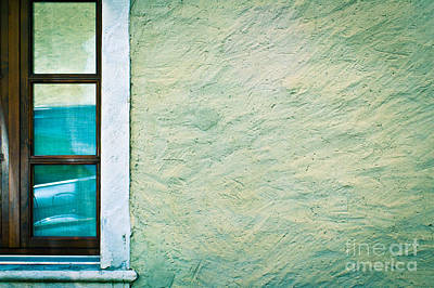 Photograph - Wavy Wall With Window by Silvia Ganora