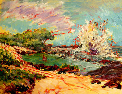 Paradise Painting - Wawaloli Wave   by Richard Rochkovsky