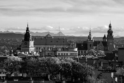 Cityspace Photograph - Wawel Castle by Marta Grabska-Press